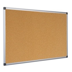 Parafatábla 120x240 cm aluminium kerettel, alukeretes parafa tábla 240x120 cm