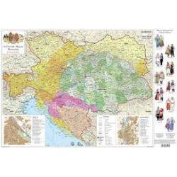Az Osztrák-Magyar Monarchia térkép Magyar História Stiefel  Stiefel