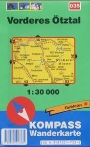 035 Vorderes Otztal Turista Terkep Kompass 1 30 000 Terkep