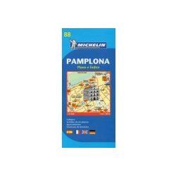 88. Pamplona térkép Michelin 1:8 000
