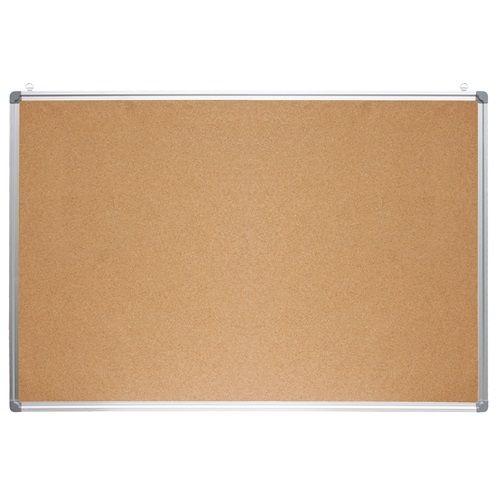 Parafatábla 90x120 cm aluminium kerettel, alukeretes parafa tábla 120x90 cm
