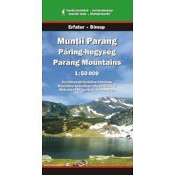 Páring-hegység térkép Dimap Bt. 2015 1:50 000