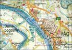 Pest megye falitérkép Nyír-Karta  1:150 000 82x120 cm