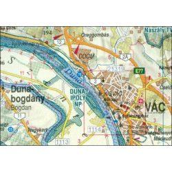 Pest megye falitérkép Nyír-Karta  1:150 000 82x120 cm, Pest és Nógrád megye falitérkép
