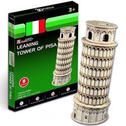 Pisai ferde torony 3D puzzle 8 db