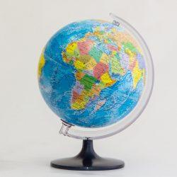 Belma politikai földgömb ország színezéssel 25 cm átmérőjű