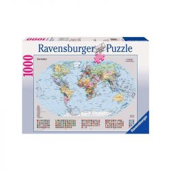 Politikai világtérkép, Ravensburger Puzzle 1000 db  70 x 50 cm