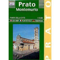 Prato térkép LAC Italy  1:12 000