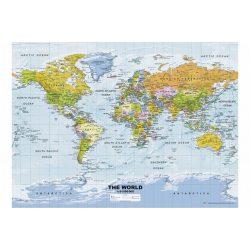 Politikai világtérkép, Ravensburger Puzzle 500 db  49 x 36 cm