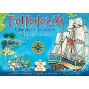 Fölfedezők-világutazók nyomában puzzle-könyv Manó könyvek 2011