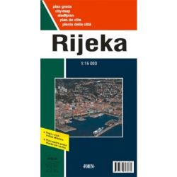 Rijeka térkép Forum 1:15 000