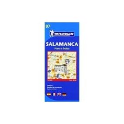 87. Salamanca térkép Michelin 1:8 000