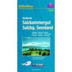 RK-A05 Salzkammergut kerékpáros térkép Esterbauer 1:75 000