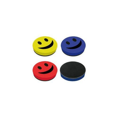 Táblatörlő szivacs mágnestáblához smile, kék színű