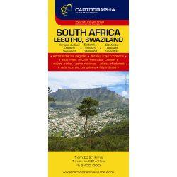 Dél-Afrika térkép Cartographia 1:2 100 000
