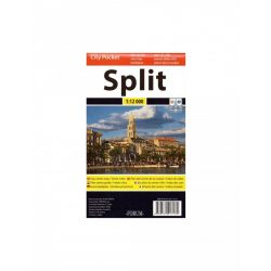 Split térkép Forum 1:10 000