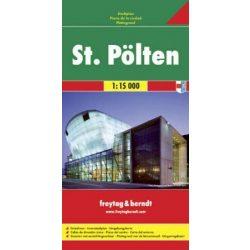 St. Pölten térkép Freytag & Berndt 1:15 000