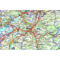 Svájc falitérkép, Svájc térkép  1:400 000  Freytag  AK 0301