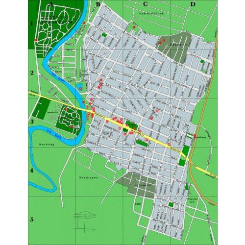 békésszentandrás térkép Szarvas térkép, Békésszentandrás térkép   Térkép Center Kft. Budai  békésszentandrás térkép