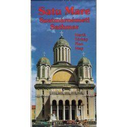 Szatmárnémeti térkép, Satu Mare térkép Nyír-Karta