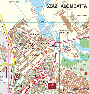 százhalombatta térkép Százhalombatta térkép, Százhalombatta várostérkép Térképház