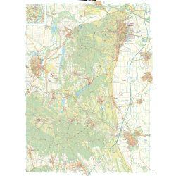 Szekszárdi dombság, Gemenc falitérkép Szarvas 1:30 000