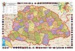 A Magyar Szent Korona Országai (Magyarország a kiegyezéstől az I. világháborúig) DUO 160 x 120 cm