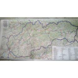 Szlovákia falitérkép Freytag, Csehország falitérkép - 2 oldalas 1:400 000 102x73 cm