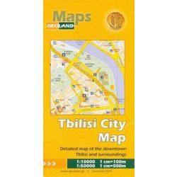 Tbilisi térkép Geoland Maps 2015 1: 10 000, 1:50 000