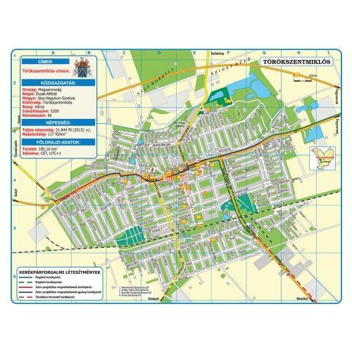 törökszentmiklós térkép Törökszentmiklós térkép Hiszi Kiadó   Térkép Center Kft. Budai