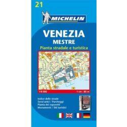 21. Velence térkép Michelin 1:5 500