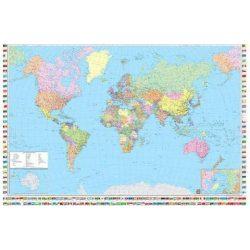 Világ országai falitérkép Freytag 1:35 000 000 122x86,5 német nyelvű WELT PD 3