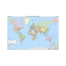Világ országai falitérkép Freytag 1:25 000 000 176x122,5 cm