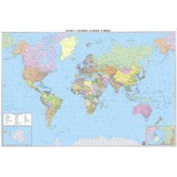 Világ országai fóliás falitérkép Freytag 122x86,5