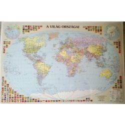 A Föld országai falitérkép, könyöklő Nyír-Karta  70x50 cm
