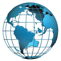 Oszlopos világító földgömb 40 cm-es, kétfunkciós, domborított - angol nyelvű