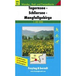 WKD 6 Tegernsee-Schliersee-Mangfallgebirge turista térkép Freytag 1:50 000