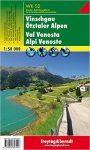 WKS 2 Vinschgau, Ötztaler Alpen turistatérkép 1:50 000