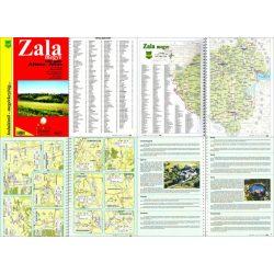 Zala megye atlasz HiSzi Map
