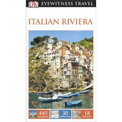 Italian Riviera útikönyv Olaszország DK Eyewitness Guide, angol 2014