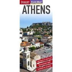 Athén térkép vízálló Insight Flexi map 1:15 000