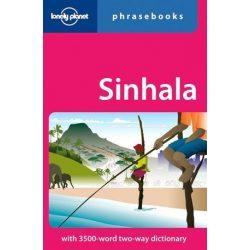 Lonely Planet szingaléz szótár Sinhala Phrasebook & Dictionary