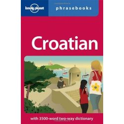 Lonely Planet horvát szótár Croatian Phrasebook & Dictionary