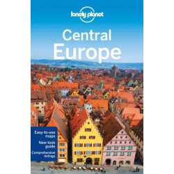 Europe Central Lonely Planet útikönyv 2013