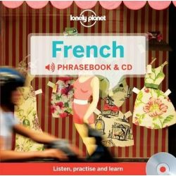 Lonely Planet francia szótár és CD French Phrasebook & Dictionary and Audio CD
