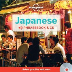 Lonely Planet japán szótár és CD Japanese Phrasebook & Dictionary and Audio CD