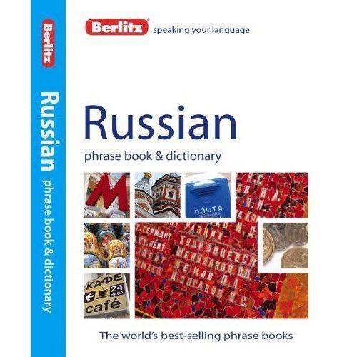 Berlitz orosz szótár Russian Phrase Book & Dictionary