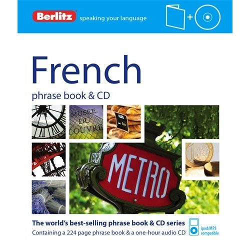Berlitz francia szótár és CD French Phrase Book & CD