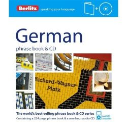 Berlitz német szótár és CD German Phrase Book & CD