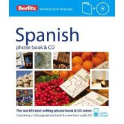 Berlitz spanyol szótár és CD Spanish Phrase Book & CD